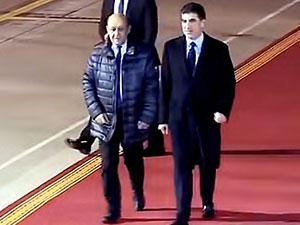 Fransa Dışişleri Bakanı Hewler'de