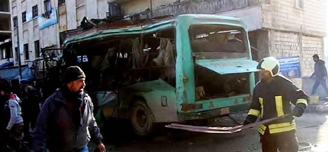 Afrin'de patlama: En az üç kişi hayatını kaybetti