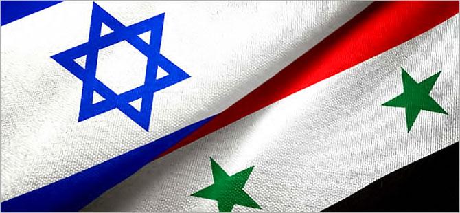 Suriye ile İsrail arasında havada gerginlik
