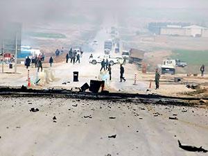 ABD-YPG ortak devriyesine saldırı