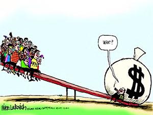 En zengin 26 kişinin serveti, dünya nüfusunun yarısının serveti kadar