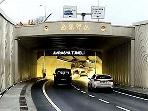 Avrasya Tüneli'ne yüzde 38 zam