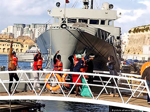 Kurtarma gemisine Alan Kurdi'nin adı veriliyor