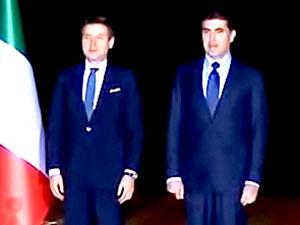 İtalya Başbakanı Conte Hewler'de