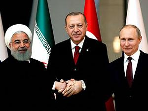 Erdoğan, Putin ve Ruhani Video konferansla Suriye'yi konuşacak