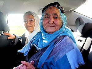 85 yaşındaki Sise Bingöl tahliye edildi