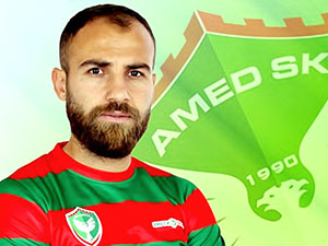 Amedspor kaptanı Mansur Çalar ömür boyu futboldan men edildi