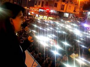 Buldan: Oy isteyeceğimiz yer belli; demokrasi güçleri