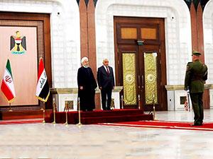 İran ve Irak arasında 5 anlaşma imzalandı