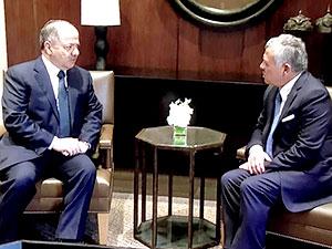 Mesud Barzani Kral Abdullah ile görüştü