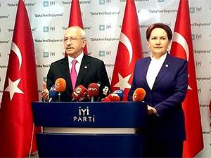 Kılıçdaroğlu ve Akşener'den ortak açıklama: YSK kanuna uygun karar vermeli