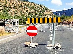 Hakkari'de 5 bölge 15 gün süreyle yasaklandı