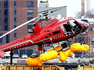 New York'ta bir helikopter binaya çarptı: 1 ölü