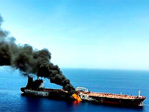 Hürmüz Boğazı yakınlarında iki tankere saldırı