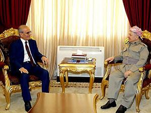 Mesud Barzani Necmeddin Kerim'le görüştü