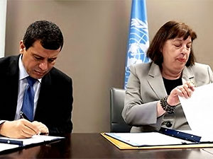 SDG ile BM anlaşma imzaladı, Dışişleri kınadı