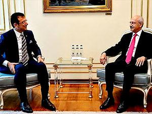 Kılıçdaroğlu'dan İmamoğlu'na ziyaret