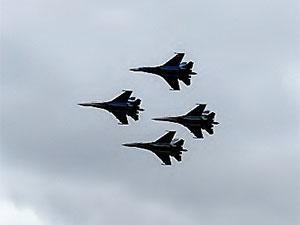 Rus Su-27 uçağı,  ABD'ye ait savaş uçağına müdahale etti