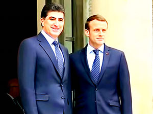 Neçirvan Barzani resmi davetle Fransa'ya gidiyor