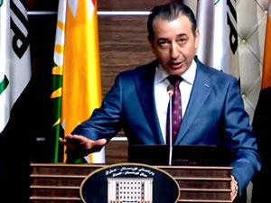 Kürdistan'da Türkmen bakan Kürtçe ve Türkçe yemin etti