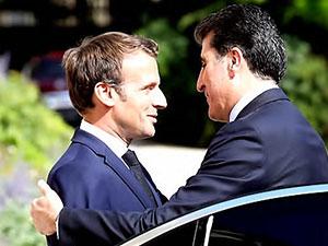 Neçirvan Barzani: Macron büyük memnuniyet duydu