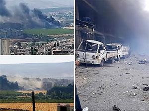 Afrin'de patlama: En az 8 kişi yaşamını yitirdi