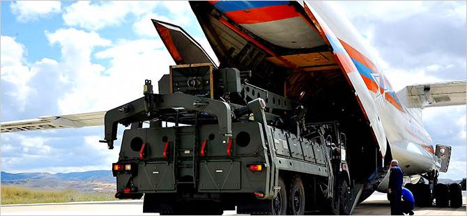 S-400 sistemini taşıyan 5 ve 6. uçak Ankara'ya indi