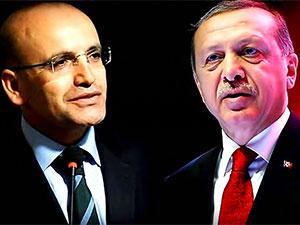 Erdoğan, Mehmet Şimşek'le görüştü