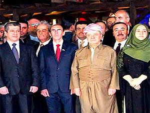 Mesud Barzani Fransa Ulusal Günü'ne katıldı