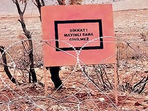 Türkiye'de 1.1 milyon mayın toprak altında