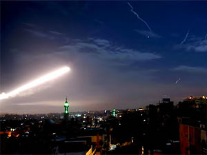 Suriye: İsrail Şam'a saldırdı