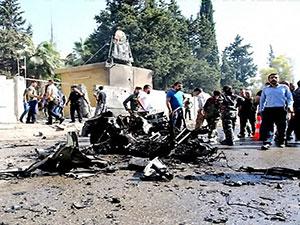 Kamışlo'da bombalı saldırı