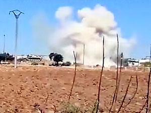 İdlib'de TSK konvoyuna hava saldırısı