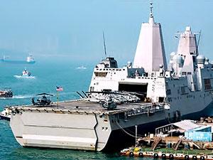 Çin ABD'ye ait savaş gemisini limana almadı