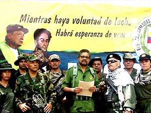 FARC'ın silahlı mücadeleye çağıran yöneticilerine tutuklama kararı