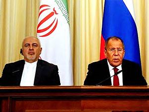 Lavrov ve Zarif'e 'güvenli bölge' ve 'Kürt meselesi' sorusu