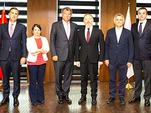HDP heyeti TÜSİAD'ı ziyaret etti