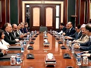 Mesud Barzani HDP heyetini kabul etti