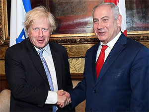 Netanyahu, Boris Johnson'a 'Boris Yeltsin' dedi