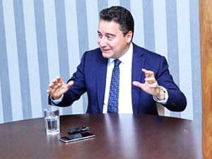 Babacan: 'Türkiye'nin özgürlük sorunu var'