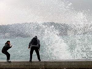 İstanbul'da yarın şiddetli fırtına bekleniyor