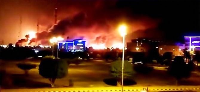 Suudi Arabistan'da iki büyük petrol tesisine drone saldırısı