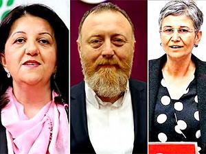 HDP eş genel başkanları ve 2 vekile Harekât soruşturması