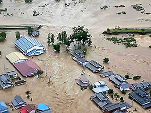 Japonya'yı Hagibis Kasırgası vurdu: Bilanço ağırlaşıyor