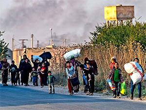 BM: 130 bin kişi bölgeden kaçtı