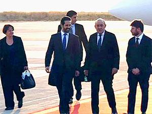 Fransa Dışişleri Bakanı Le Drian Hewler'de