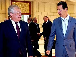 Rusya heyeti Beşar Esad'la Rojava'yı görüştü