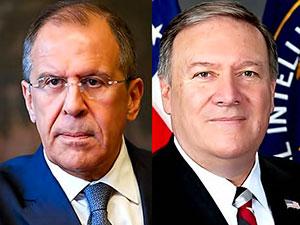 Lavrov ve Pompeo telefonda Suriye'yi görüştü