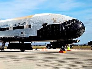 Gizemli uzay uçağı iki yıllık gizli görevden döndü