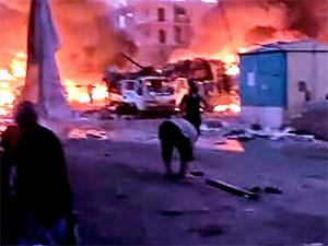 Afrin'de bomba yüklü araç patlatıldı: 9 kişi hayatını kaybetti